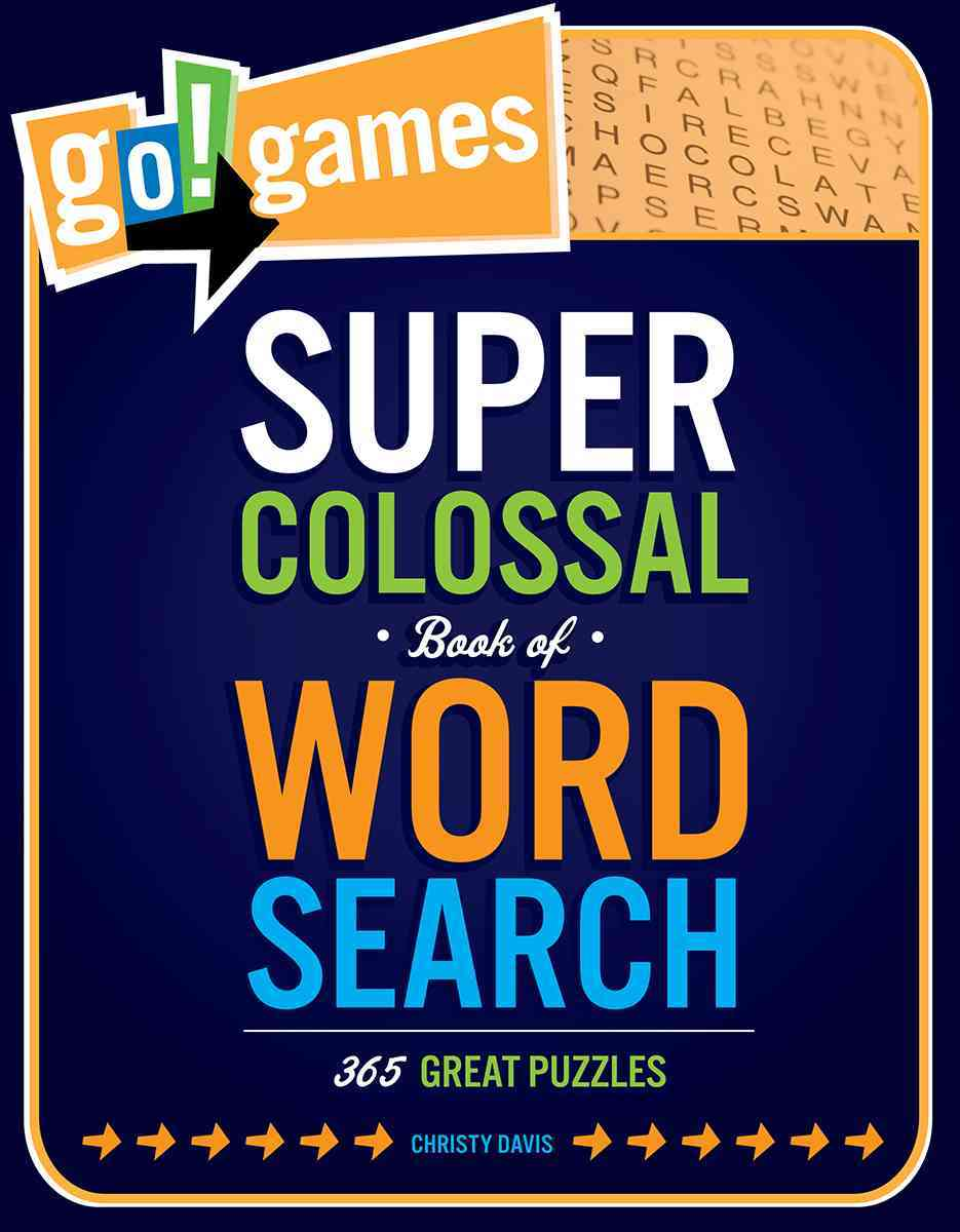Go!games Super Colossal Book of Word Search By Davis, Christy